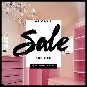 30% off sale on all items $50 and under